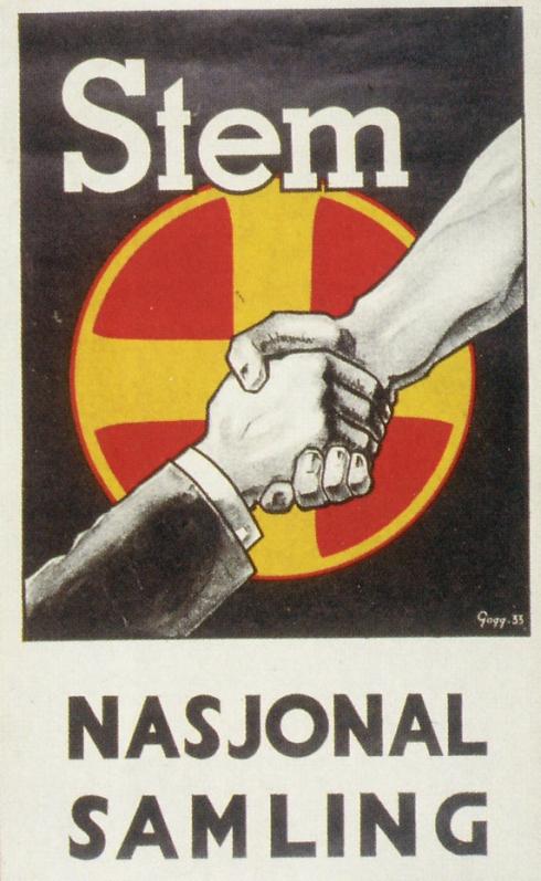 Nasjonal samlings merke.